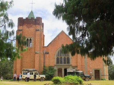 The church established by Dr Robert Laws in Livingstonia, Malawi