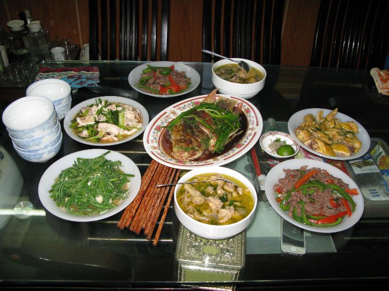 Tra's Family Dinner for me