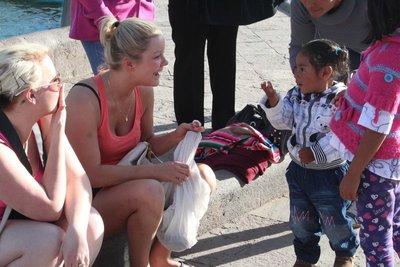 Kisses in Cuzco