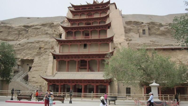 Dunhuang, Gansu, China - 10-6-2014 05-22-16