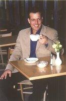 Enjoying a Coffee
