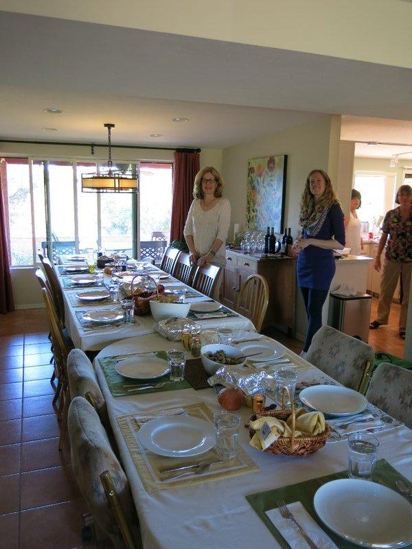 Thanksgiving at Bill & Karen's house