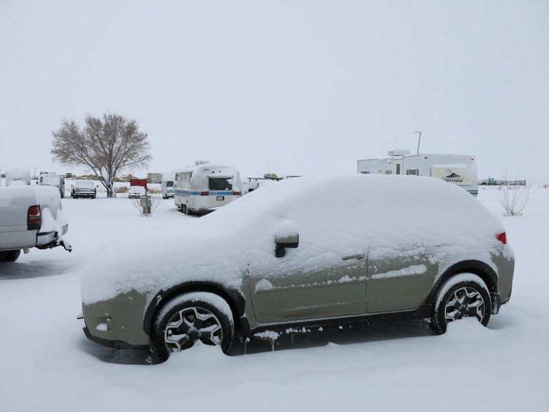 Snow in ABQ