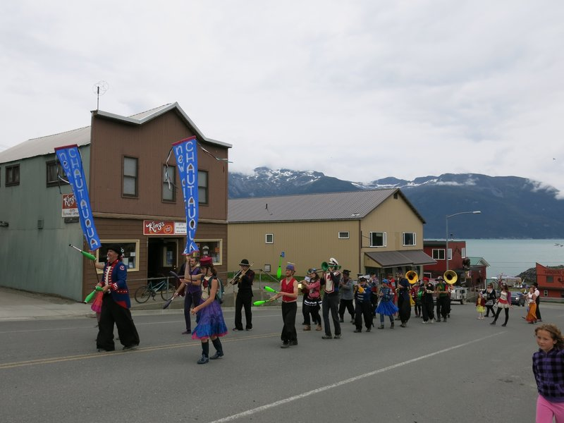 World's smallest parade