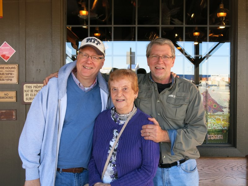 Don, Betty, and Tim in Pittsburgh PA