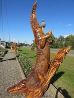 Chetwynd chainsaw carving