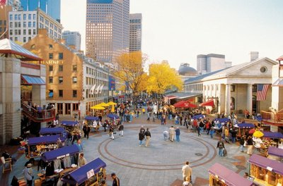 Faneuil Hall and Quincy Markets