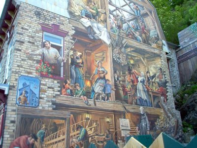 Lower Old Town murals