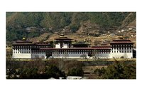 Thimphu Dzong: The admistrative and religious center of the capital city of Bhutan