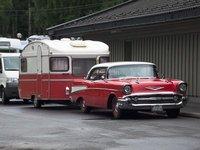 Oldtimer auf dem Campingplatz