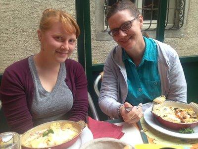 Mom and Nat Iguane Café