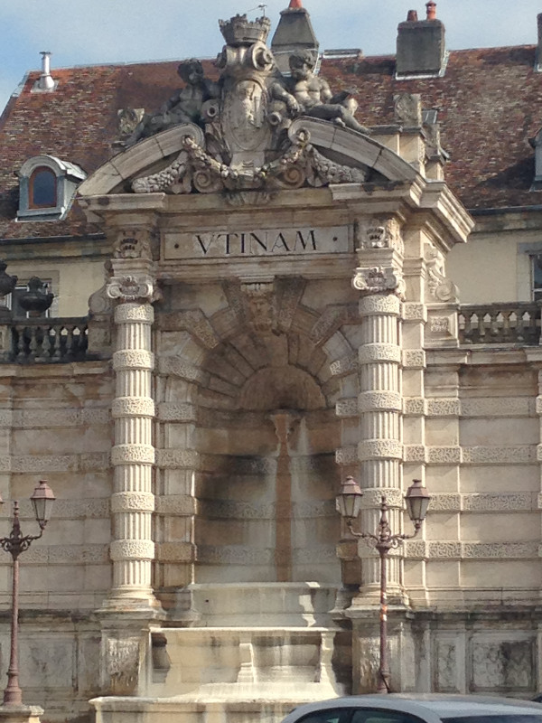 Fountain on the Place Jean-Cornet