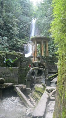 Xilitla waterfall