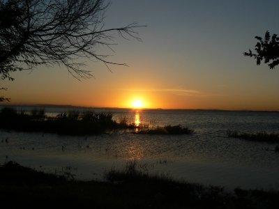 Sunset at Guaiba river 1