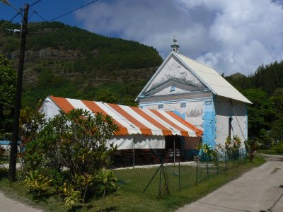 Mangareva's new church