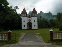 Church on Moorea
