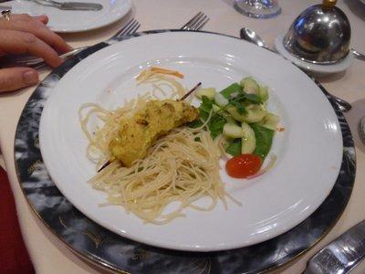 Carnival Legend food main dining room