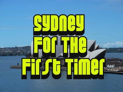 sydney for the first timer