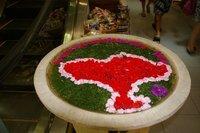 Flower Arrangment Matahari shopping center Bali Indonesia