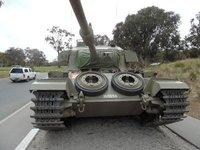 Centurian Tank - Australian War Memorial - Canberra Australia
