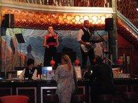 Carnival Spirit Cruise Ship Singers Atrium Deck 2