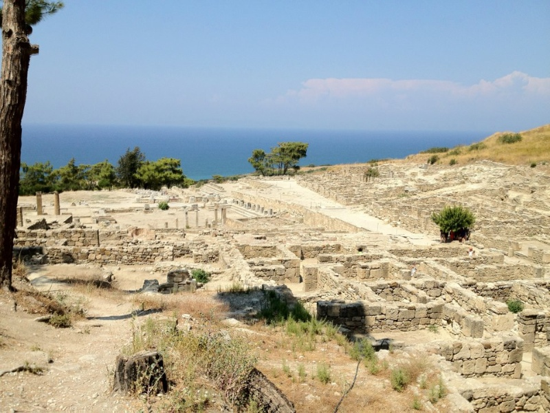 The ancient city of Kamidoros