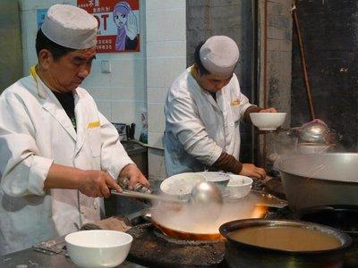 Cooks in the Muslim Quarter