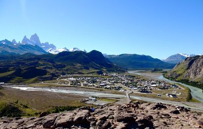 The small town of El Chalten