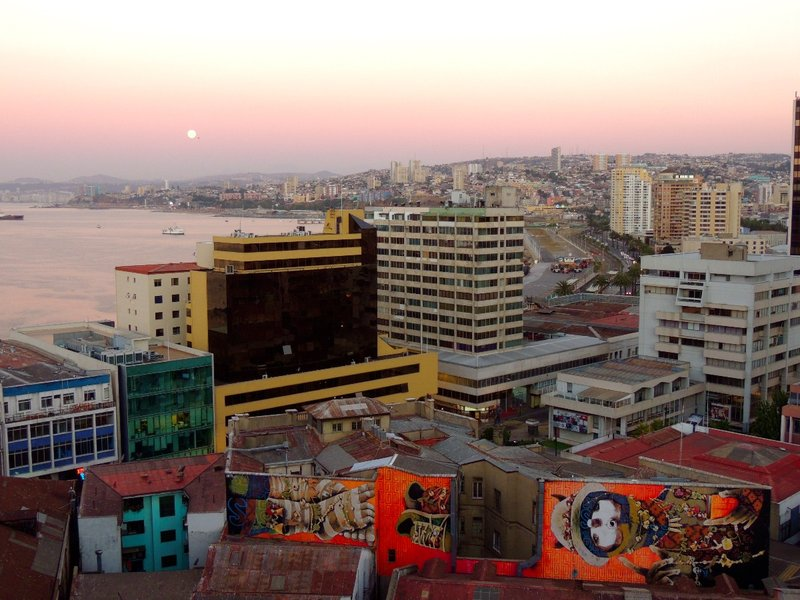 My final evening in South America. Not a bad sunset.