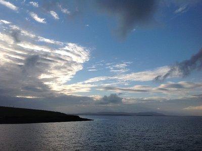 Leaving Orkney