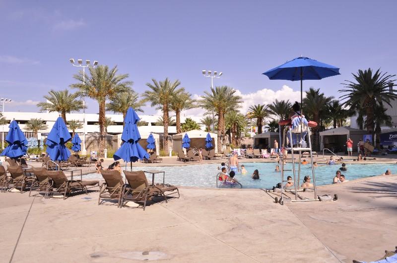 Pool at ExCalibur Hotel in Vegas