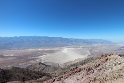A view of the Death Valley from Dante's point