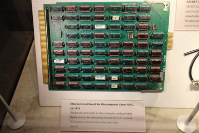 Early ethernet card