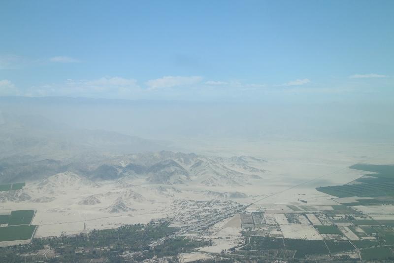 Flying over Nazca