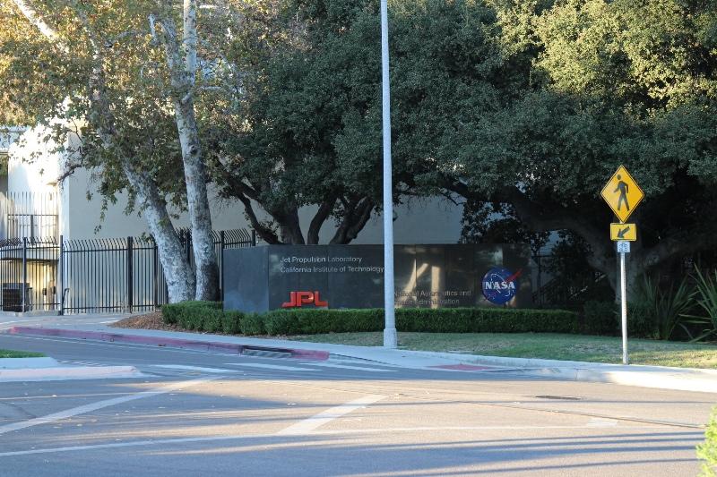 Entrance to Jet Propulsion Laboratory