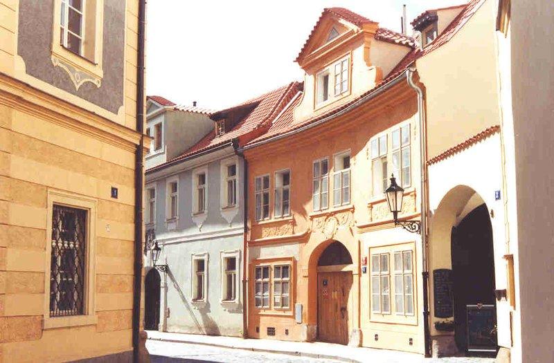 A side street in Prague, Czech Republic