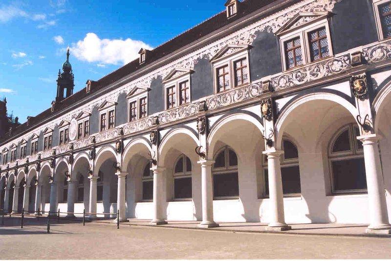 Stable Courtyard, Dresden