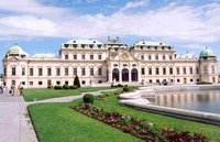 Upper Belvedere Palace in Vienna May 2006