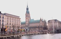Hamburg Rathaus City Hall, Germany