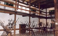 The Armoury Room at the Hohenwerfen Fortress in Austria