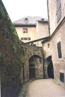 Inside the Hohensalzburg Fortress in Salzburg