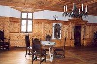 The masters living quarters at Hohensalzburg Fortress, Austria