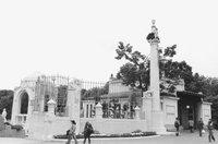 Stadtpark Portal Pavilion in Vienna Austria