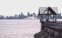 Vancouver skyline from the North Vancouver, BC