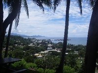 View from FFA - Honiara