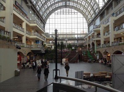Sapporo Factory (a huge mall complex not far away from Sapporo station)