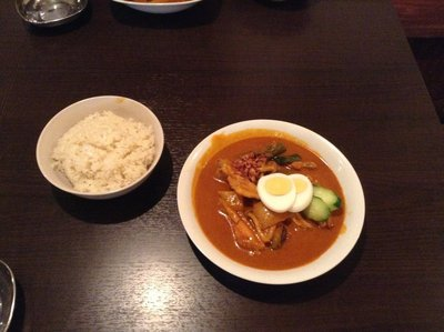 KennyAsia's Nyonan Chicken Curry with Rice