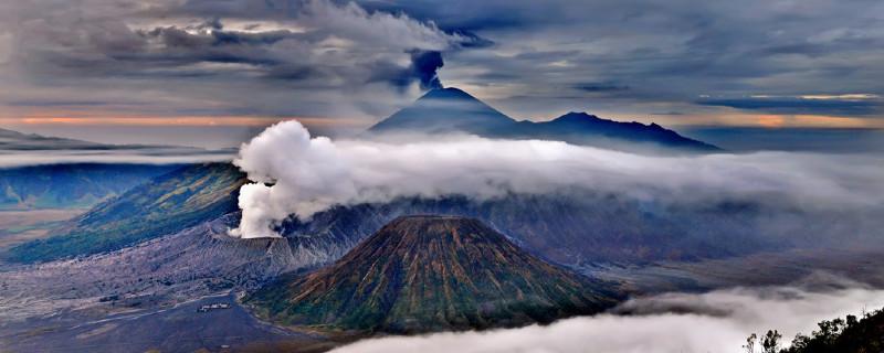 Mt. Bromo and Mt Semeru