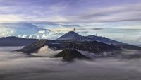 Mt. Bromo and Mt. Semeru