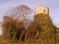 Burgh St Mary  (near Filby). Ruins